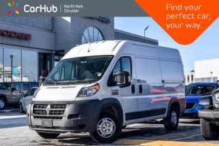 Used 2017 RAM Cargo Van ProMaster |Backup Cam|SiriusXM|Bluetooth|Keyless_Entry| for sale in Thornhill, ON
