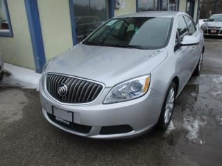 Used 2016 Buick Verano LOADED 'SPORTY' 5 PASSENGER 2.4L - ECO-TEC.. LEATHER TRIM.. TOUCH SCREEN.. BACK-UP CAMERA.. CD/AUX/USB INPUT.. for sale in Bradford, ON