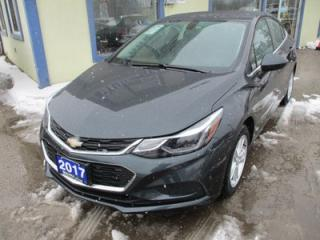 Used 2017 Chevrolet Cruze 'LIKE NEW' FUEL EFFICIENT LT MODEL 5 PASSENGER 1.4L - TURBO.. HEATED SEATS.. BOSE AUDIO.. TOUCH SCREEN.. BLUETOOTH.. BACK-UP CAMERA.. for sale in Bradford, ON