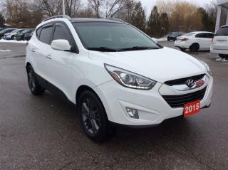 Used 2015 Hyundai Tucson GLS..ONE OWNER..CLEAN CARPROOF for sale in Milton, ON