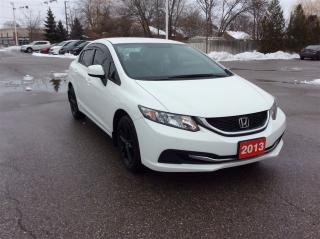 Used 2013 Honda Civic LX..TINTED WINDOWS for sale in Milton, ON