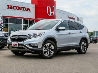Used 2015 Honda CR-V Touring..ONE OWNER for sale in Milton, ON