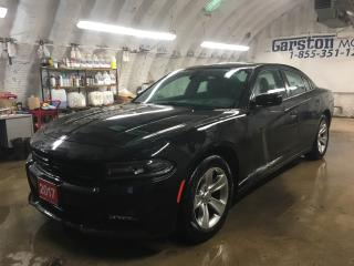 Used 2017 Dodge Charger SXT*SUNROOF*U CONNECT PHONE*KEYLESS ENTRY w/REMOTE START*NAVIGATION READY*8.4 TOUCHSCREEN MULTIMEDIA*HEATED FRONT SEATS*POWER DRIVER SEAT* for sale in Cambridge, ON