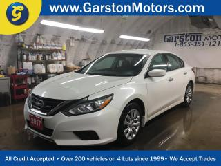 Used 2017 Nissan Altima S*KEYLESS ENTRY w/REMOTE START*BACK UP CAMERA*PHONE CONNECT*HEATED FRONT SEATS*POWER DRIVER SEAT* for sale in Cambridge, ON