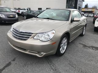 Used 2008 Chrysler Sebring LTD CONVERTIBLE for sale in Saint-hyacinthe, QC