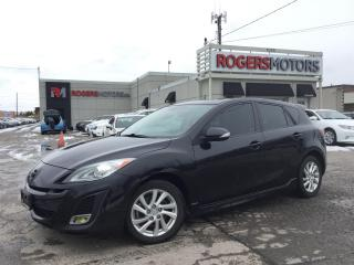 Used 2010 Mazda MAZDA3 - 6SPD - LEATHER - SUNROOF for sale in Oakville, ON