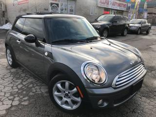 Used 2010 MINI Cooper Leather_Sunroof_Low KMS for sale in Oakville, ON