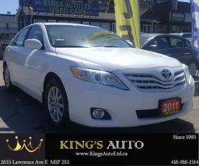 Used 2011 Toyota Camry XLE | SUNROOF | LEATHER for sale in Scarborough, ON