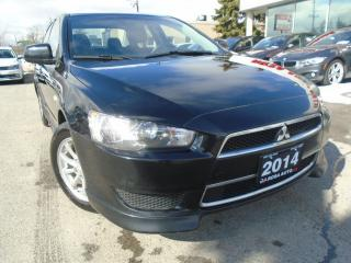 Used 2014 Mitsubishi Lancer SE NO ACCIDENTS, BLUETOOTH,GAS SAVER ,HEATED SEATS for sale in Oakville, ON