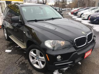 Used 2008 BMW X5 3.0si/NAVI/BACKUP CAMERA/LEATHER/PANO SUNROOF for sale in Scarborough, ON