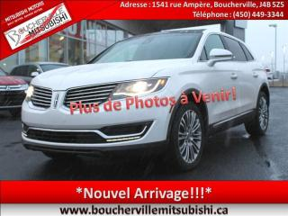 Used 2016 Lincoln MKX Reserve Toit Pano for sale in Boucherville, QC