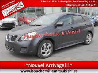Used 2009 Pontiac Vibe A/c, Gr. élect for sale in Boucherville, QC