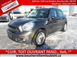 Used 2016 MINI Cooper Countryman S Cuir, Toit Pano for sale in Boucherville, QC