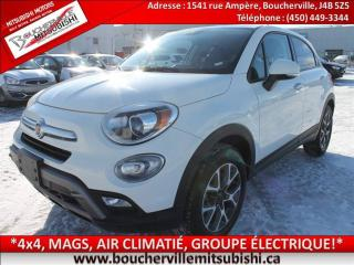 Used 2016 Fiat 500X Trekking 4x4, A/c for sale in Boucherville, QC