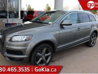 Used 2015 Audi Q7 PANO ROOF, LEATHER, NAV, AWD, 7 PASS for sale in Edmonton, AB