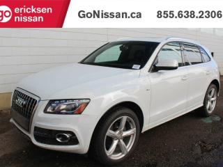 Used 2012 Audi Q5 S-LINE: LEATHER, NAVIGATION, SUNROOF for sale in Edmonton, AB