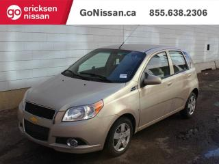 Used 2010 Chevrolet Aveo Low Kms, Power Options for sale in Edmonton, AB