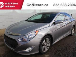 Used 2015 Hyundai Sonata Hybrid Limited - HEATED SEATS, BACK UP CAMERA, PANORAMA ROOF for sale in Edmonton, AB