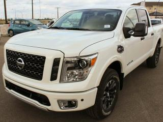 New 2018 Nissan Titan PRO-4X CREW CAB, BILSTEIN OFF-ROAD SHOCK ABSORBERS, HEATED SEATS, BACKUP CAMERA for sale in Edmonton, AB