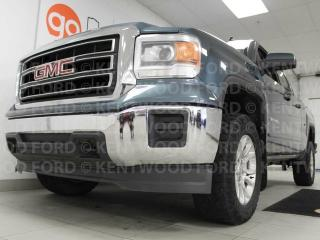 Used 2014 GMC Sierra 1500 SLE in a majestic blue, all ready and waiting for you for sale in Edmonton, AB
