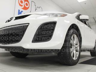 Used 2011 Mazda CX-7 CX7 AWD with a sunroof, power leather seats, rear DVD entertainment on both sides and it's a stylish ride! for sale in Edmonton, AB
