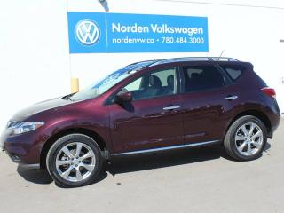 Used 2014 Nissan Murano PLATINUM AWD, LEATHER, NAVIGATION for sale in Edmonton, AB