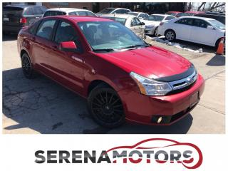 Used 2009 Ford Focus SES   ONE OWNER   HEATED SEATS   BLUETOOTH   for sale in Mississauga, ON