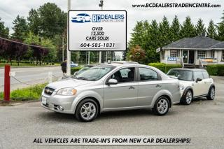 Used 2009 Chevrolet Aveo LT, Automatic, Sunroof, Low 173k, A/C, Local, Clean! for sale in Surrey, BC