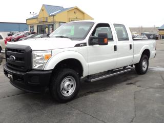 Used 2015 Ford F-250 XL CrewCab 4X4 6.2L 6ft Box for sale in Brantford, ON