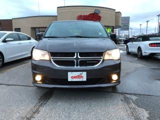 Used 2017 Dodge Grand Caravan Crew Plus LTHR REAR CAM H-TED SEATS NAVI for sale in Scarborough, ON
