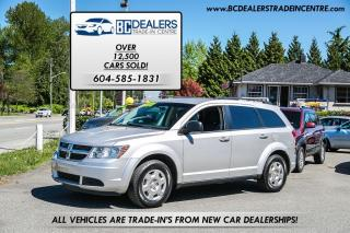 Used 2010 Dodge Journey SE 4-Cylinder, iPod, Full Power Group, Affordable! for sale in Surrey, BC