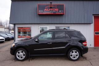 Used 2008 Mercedes-Benz ML-Class AWD for sale in Saint-romuald, QC