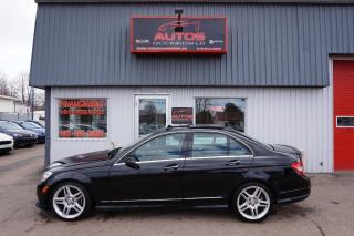 Used 2011 Mercedes-Benz C-Class 4matic Awd for sale in Saint-romuald, QC