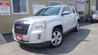 Used 2015 GMC Terrain SLE--CHROME WHEELS-BACK UP CAMERA-REMOTE START for sale in Tilbury, ON