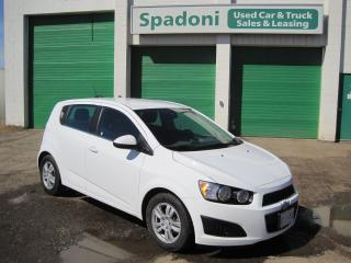 Used 2016 Chevrolet Sonic LT for sale in Thunder Bay, ON