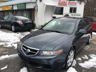Used 2004 Acura TSX Safety And E Test is Included The Price for sale in Scarborough, ON