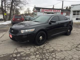 Used 2013 Ford Taurus ExPolice Cruiser/All Wheel Drive/Leather/Certified for sale in Scarborough, ON
