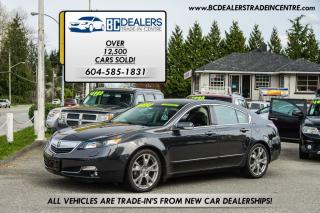 Used 2013 Acura TL 3.7L 305hp Elite Pkg, Navi, AC Seats, Reverse Cam! for sale in Surrey, BC