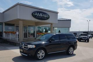Used 2012 Dodge Durango DVD / 4X4 / NO PAYMENTS FOR 6 MONTHS !!! for sale in Tilbury, ON