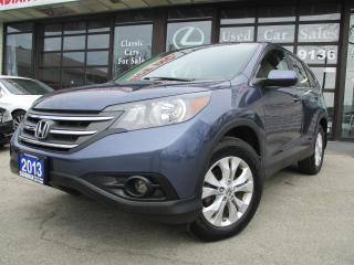 Used 2013 Honda CR-V EX-BACK UP CAMERA-SUNROOF-BLUETOOTH-HEATED-ALLOYS for sale in Scarborough, ON
