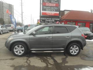 Used 2007 Nissan Murano SL AWD for sale in Scarborough, ON