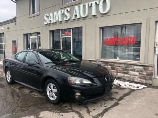Used 2005 Pontiac Grand Prix GT SUNROOF for sale in Hamilton, ON