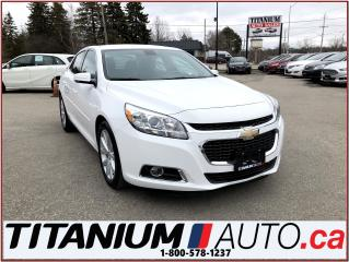 Used 2014 Chevrolet Malibu 2-LT+Camera+Remote Start+Heated Leather Power Seat for sale in London, ON