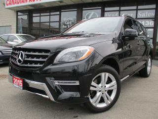 Used 2015 Mercedes-Benz ML 350 AMG-blue TEC-4MATIC-NAV-360CAM-PANO-ROOF for sale in Scarborough, ON