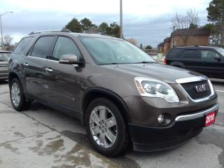 Used 2010 GMC Acadia SLT2 for sale in Scarborough, ON