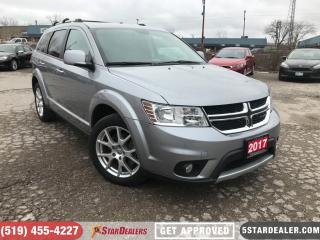 Used 2017 Dodge Journey GT | ONE OWNER | LEATHER | AWD | 7PASS for sale in London, ON