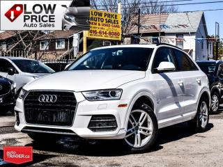 Used 2016 Audi Q3 Leather*PanoramicRoof*XenonPkg*HtdSeats*Bluetooth for sale in York, ON