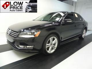 Used 2015 Volkswagen Passat Diesel*HighLine*Leather*Navi*Camera&Warranty* for sale in York, ON