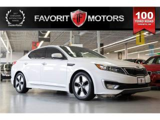 Used 2013 Kia Optima Hybrid PREMIUM, Reverse Camera, Navigation, Leather for sale in North York, ON