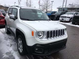 Used 2017 Jeep Renegade LIMITED 4X4**NAVIGATION**MY SKY SUNROOF** for sale in Mississauga, ON
